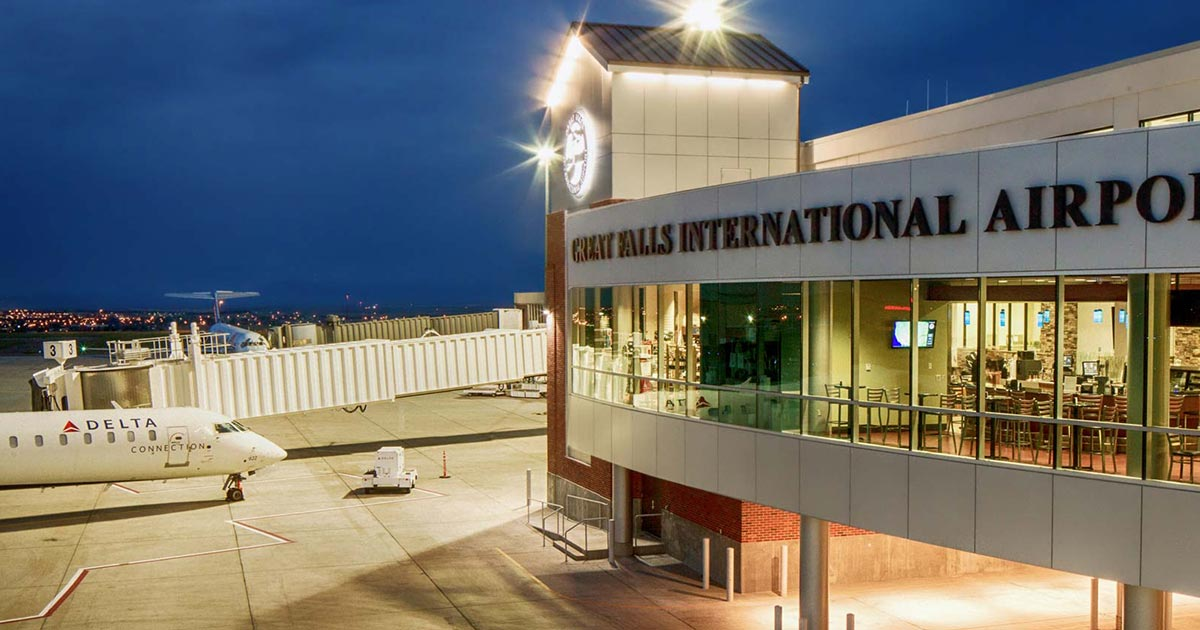 Great Falls International Airport Gtf Flygtf Com